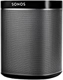 Sonos PLAY:1 Compact smart wireless speaker for streaming music (Black)