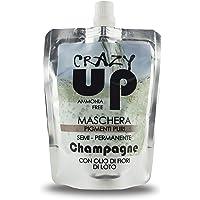 Crazy Up Maschera Colorante Senza Ammoniaca Semipermanente per Capelli - Champagne - 200 ml