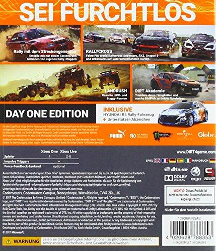 DiRT 4 Day One Edition (XONE) - 2
