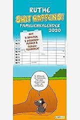 Ruthe - Shit happens! Familienkalender 2020 Kalender