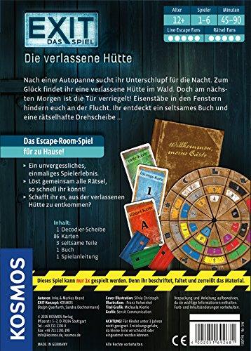 Exit – Spiele, Die verlassene Hütte & Co. (Kosmos) - 2
