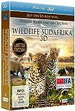 Wildlife Südafrika 3D - Auf den Spuren von weissen Haien und den Big Five (3D Version inkl. 2D Version & 3D Lenticular Card) [Blu-ray]