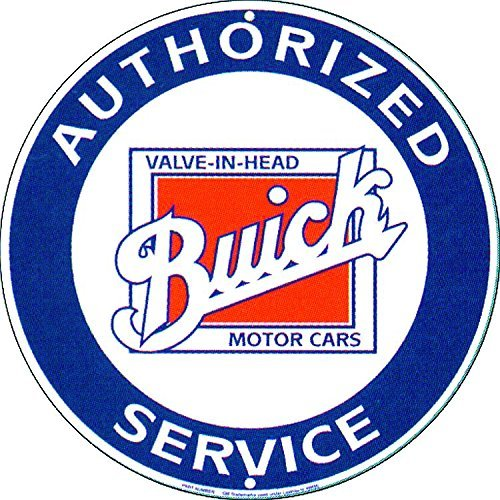 buick-authorized-service-round-sign-by-signs-4-fun