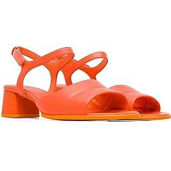 Camper Katie Sandal Sandalia con Pulsera para Mujer Rosa Medium Orange 810 37 EU
