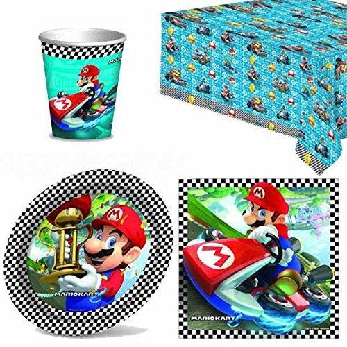 Preisvergleich Produktbild Mario Kart Partygeschirr Pack für 8