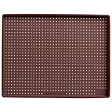 Lekue Micro Perforated Baking Rectangular Pizza Mat, Brown
