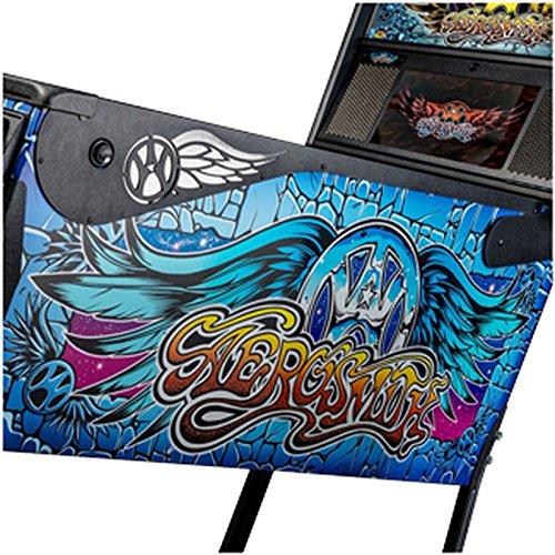 Aerosmith Pinball Black Side Armor Kit 502 - 7019 - 00