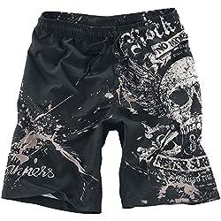 DKNWY Pantalones cortos de hombre para playa