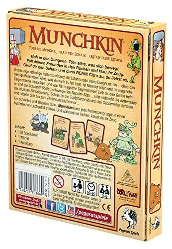 Pegasus-Spiele-17211G-Munchkin-Kartenspiel