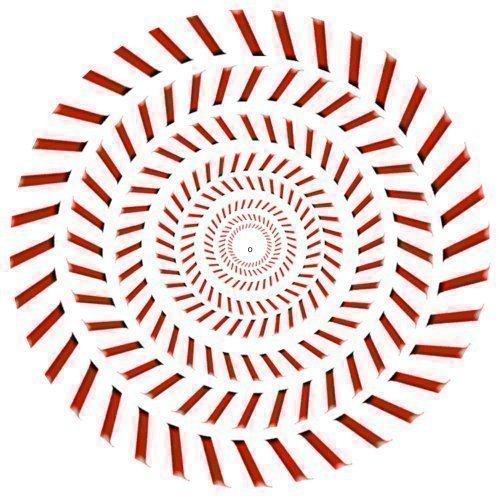 dj-record-turntable-slipmats-red-spiral-illusion-effect-slipmat-x-1-single