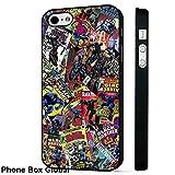 Black Panther Marvel DC Comic Téléphone Coque arrière rigide pour iPhone 6 - 6S...