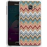 Samsung Galaxy A3 (2016) Housse Étui Protection Coque Zigzag Rétro Motif