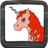 Libro de colorear de unicornio