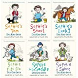 Dick King-Smith Sophie Stories 6 Books Collection Pack Set RRP: £29.94 (Sophies Snail, Sophies Tom, Sophie Hit ix, Sophie in the Saddle, Sophie is Seven, Sophie's Lucky)