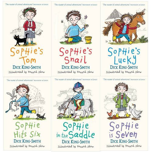 Dick King-Smith Sophie Stories 6 Books Collection Pack Set RRP: 29.94 (Sophi...