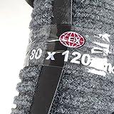 1x Schmutzfangmatte Größe ca. 80x120cm Sauberlauf Fussmatte verschiedene Farben (grau)