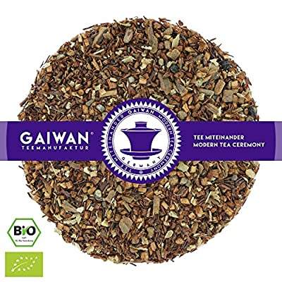 "N° 1286: Thé rooibos bio ""Rooibos Chai"" - feuilles de thé issu de l'agriculture biologique - GAIWAN® GERMANY - rooibos, cassia, gingembre, cardamome, giroflier, poivre noir"