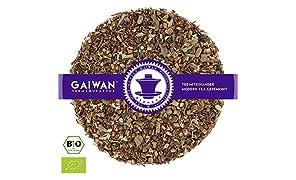 """Núm. 1286: Té rooibos orgánico """"Chai de rooibos"""" - hojas sueltas ecológico - 250 g - GAIWAN® GERMANY - rooibos, cassia, jengibre, cardamomo, clavel, pimienta negro"""