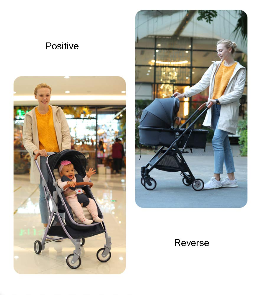 MYRCLMY Lightweight Folding Child Travel Artifact Baby Double Can Sit Detachable Twin Baby Stroller,Red  ***Two-way implementation: easy to interact with the baby at any time; all-aluminum ultra-light, frame only 3.2kg, petite treasure mother can also easily control; folding small can board, the patent sleeping basket can be folded, the car is very small, Can bring the plane directly, no need to check in. ***High landscape: the seat is high from the ground, refuses to eat the baby; magic transparent rubber wheel, with bearing, technology-explosive high-value transparent wheel, each wheel has built-in precision bearings, promotes super smooth and flexible, rubber wheel 5 years is not bad. ***Newborn sleeping basket design, newborn baby's exclusive mobile crib; reclining flat can sit straight, three-speed adjustment, 0-3 year old baby is suitable for comfortable seats. 6