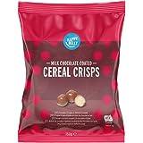 Marchio Amazon - Happy Belly Cereali croccanti ricoperti di cioccolato al latte 150g x 6