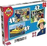 Jumbo Games Fireman Sam Trio Jigsaw Puzzles