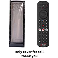PRUSHTI COVER AND BAGS, Protective Case for Airtel Xstream settop Box Remote Remote Control Pouch Cover Holder PU Leather Cover Holder(only Cover for Selling Purpose)