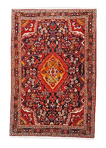 originale tappeto Josan 150 x 100 fondo blu floreale stilizzato