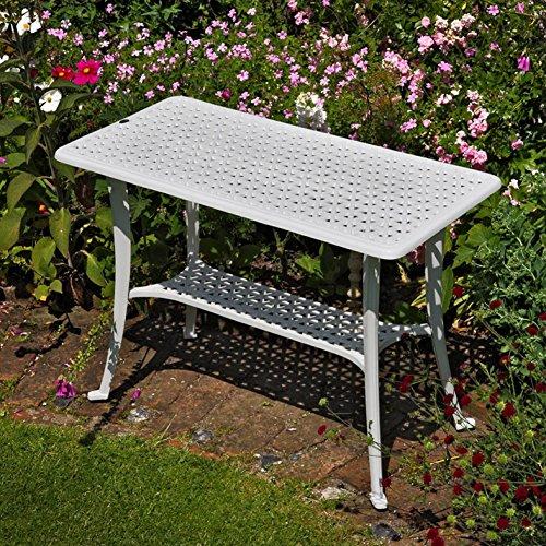 Lazy Susan - Mesa de apoyo para barbacoa y 2 sillas ROSE - Muebles ...