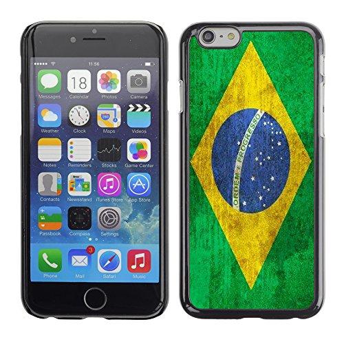 Graphic4You Vintage Uralt Flagge Von Peru PeruanerDesign Harte Hülle Case Tasche Schutzhülle für Apple iPhone 6 Brasilien Brasilianisch