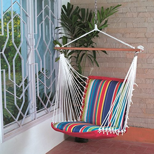 hangit soft multi color hammock swinging chair  polyester   amazon in  electronics hangit soft multi color hammock swinging chair  polyester   amazon      rh   amazon in