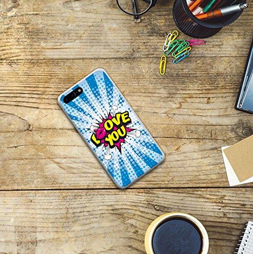 iPhone 7 Plus Hülle, WoowCase® [Hybrid] Handyhülle PC + Silikon für [ iPhone 7 Plus ] Husky-Hunde Sammlung Tier Designs Handytasche Handy Cover Case Schutzhülle - Transparent Housse Gel iPhone 7 Plus Transparent D0470