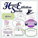 Heyers Etiketten-Studio zum Druck von Etiketten aller Art -