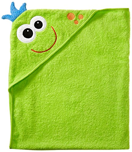 Luvable Friends Animal Face Hooded Towel, Monster