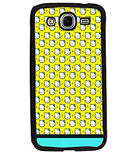 PrintDhaba Kitty pattern D-1775 Back Case Cover for SAMSUNG GALAXY MEGA 5.8 (Multi-Coloured)