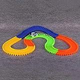#5: MSE Glowing Mini Race Luminous Racing Flexible Hot Wheel Slot Cars Racing Track Toys For Boys Truck