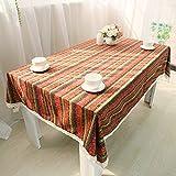 V-EWIGE Nacional de Bohemia rayada Manteles Mantel Mantel té Table100 * 150 cm Nueva