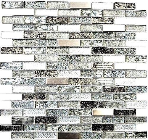 mosaico-azulejos-verbund-crystal-cristal-mosaico-aluminio-mix-plata-gris-negro-i-1-arco