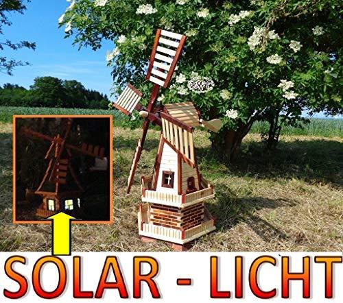 Gartenwindmühle 130 cm, zweistöckig - 2