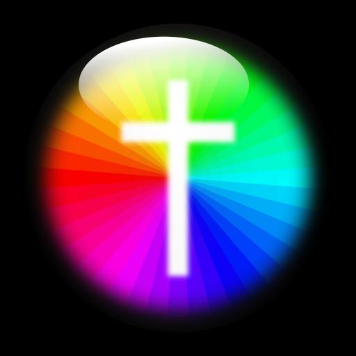 Taschenlampe 'Farbenkreuz'