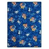BilligerLuxus XXL Kinderteppich Disney Frozen Eiskönigin Teppich Kinder Spielteppich 150x200cm