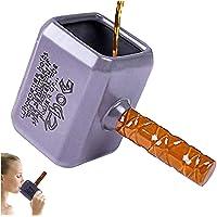 Tasse de Marteau Thor 3D Personnalisé - ZNEU Tasse à café de Créatif en Céramique de 550 ml, Chope-cadeaux Amusant pour…
