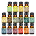 ArtNaturals Aromatherapy Top-16 Essential Oil Set - 100% Pure of the Highest Therapeutic Grade Quality - Premium Edition Sampler Gift Set - Lavender, Peppermint, Tea Tree, Eucalyptus Rosemary and More
