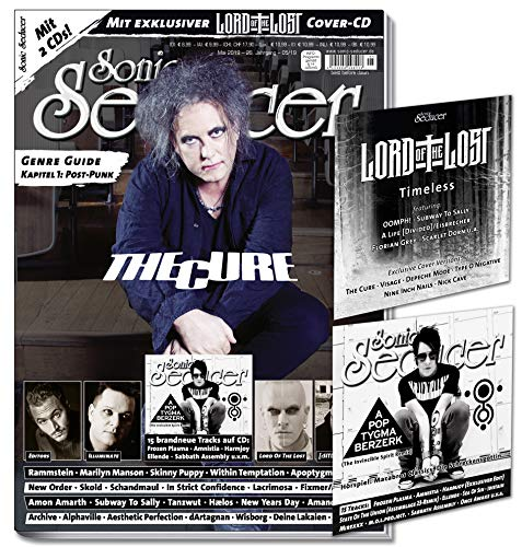 Sonic Seducer 05-2019 + The Cure-Titelstory + im Mag: Marilyn Manson, Editors, Lord Of The Lost, New Order, Rammstein, [:SITD:] + Lord Of The Lost-EP ... Berzerk, Frozen Plasma, Sabbath Assembly u.v. -