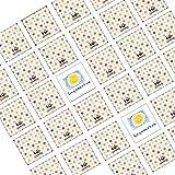 100 Stück Memory Spiel Legekarten Blanko zum Selbstgestalten - 6 x 6 cm - für Kinder , Enkelkinder und Erwachsene , Selber Malen Basteln und Tuschen