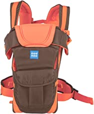 Mee Mee Lightweight Breathable Baby Carrier (Orange)