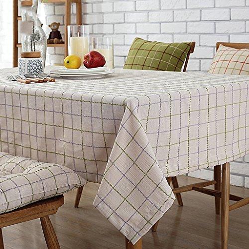 HAOLIA biancheria di cotone tavolo da pranzo tavolino TV tovaglia tavolo bandiera rettangolare tovaglia rotonda tovaglie ( dimensioni : 135*180cm )