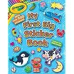 Crayola My First Big Sticker Book (Crayola/Buzzpop)