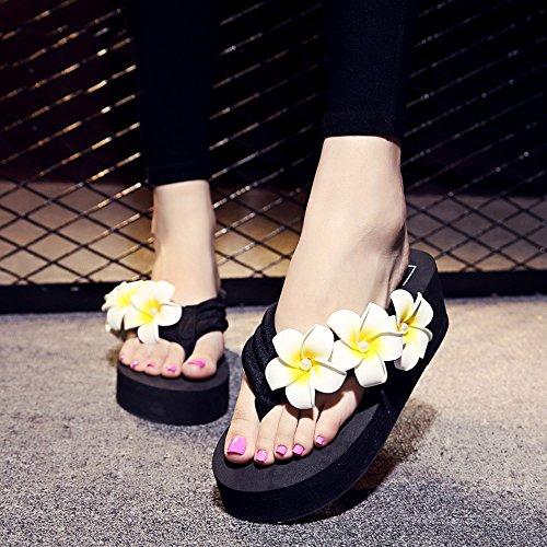 Estate Sandali Pantofole femminili di modo di estate Pattini inferiori antisdrucciolevoli Sandali della spiaggia piatta con 8 colori Colore / formato facoltativo #3