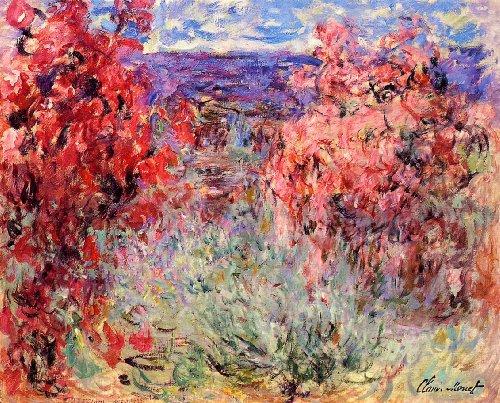 odsanart-20-x-16-cm-1-stuck-impressionismus-andere-bluhende-baume-in-der-nahe-der-kuste-von-claude-o
