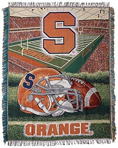 Syracuse Orangemen NCAA Tapisserie Couvre-lit tissée (Home Champ Advantage) (48x 60)